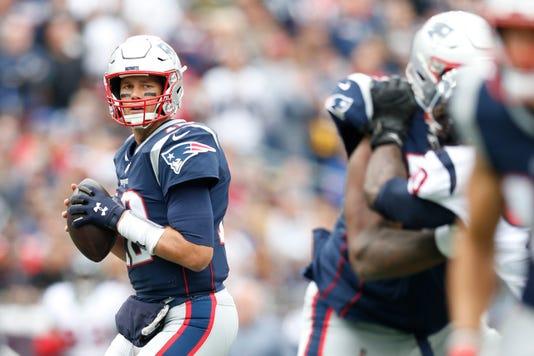 Nfl Houston Texans At New England Patriots New England Patriots Quarterback Tom Brady