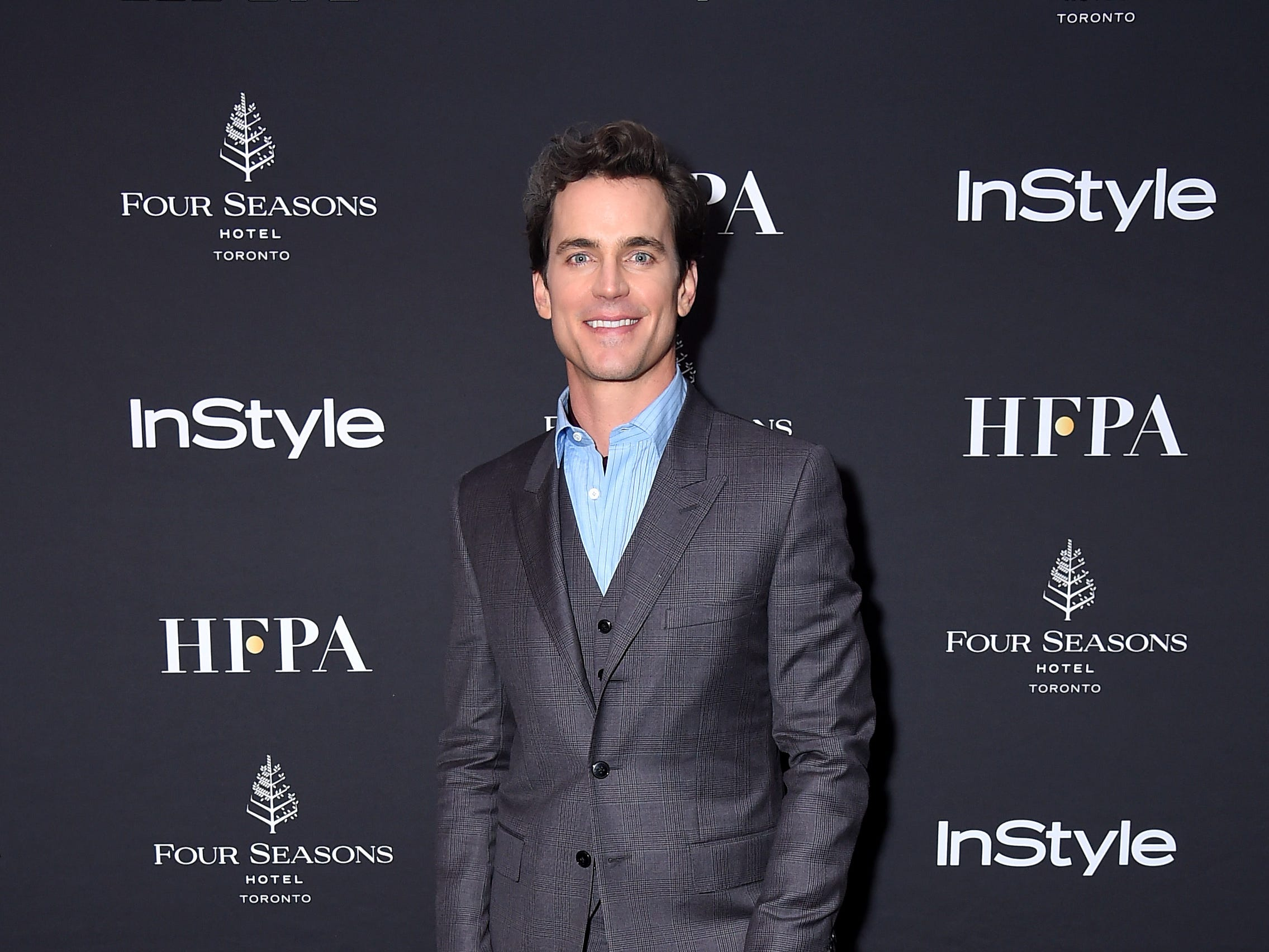 TORONTO, ON - SEPTEMBER 08:  Matt Bomer attends The Hollywood Foreign Press Association and InStyle Party during 2018 Toronto International Film Festival at Four Seasons Hotel on September 8, 2018 in Toronto, Canada.  (Photo by Michael Loccisano/Getty Images,) ORG XMIT: 775218497 ORIG FILE ID: 1029603318