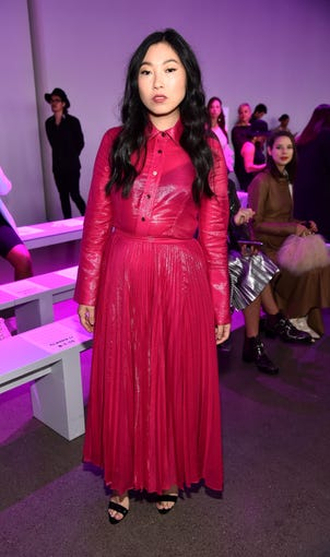 NEW YORK, NY - SEPTEMBER 09:  Actress Awkwafina attends the Claudia Li Front Row during  New York Fashion Week: The Shows at Gallery II at Spring Studios on September 9, 2018 in New York City.  (Photo by Theo Wargo/Getty Images) ORG XMIT: 775216371 ORIG FILE ID: 1029857464
