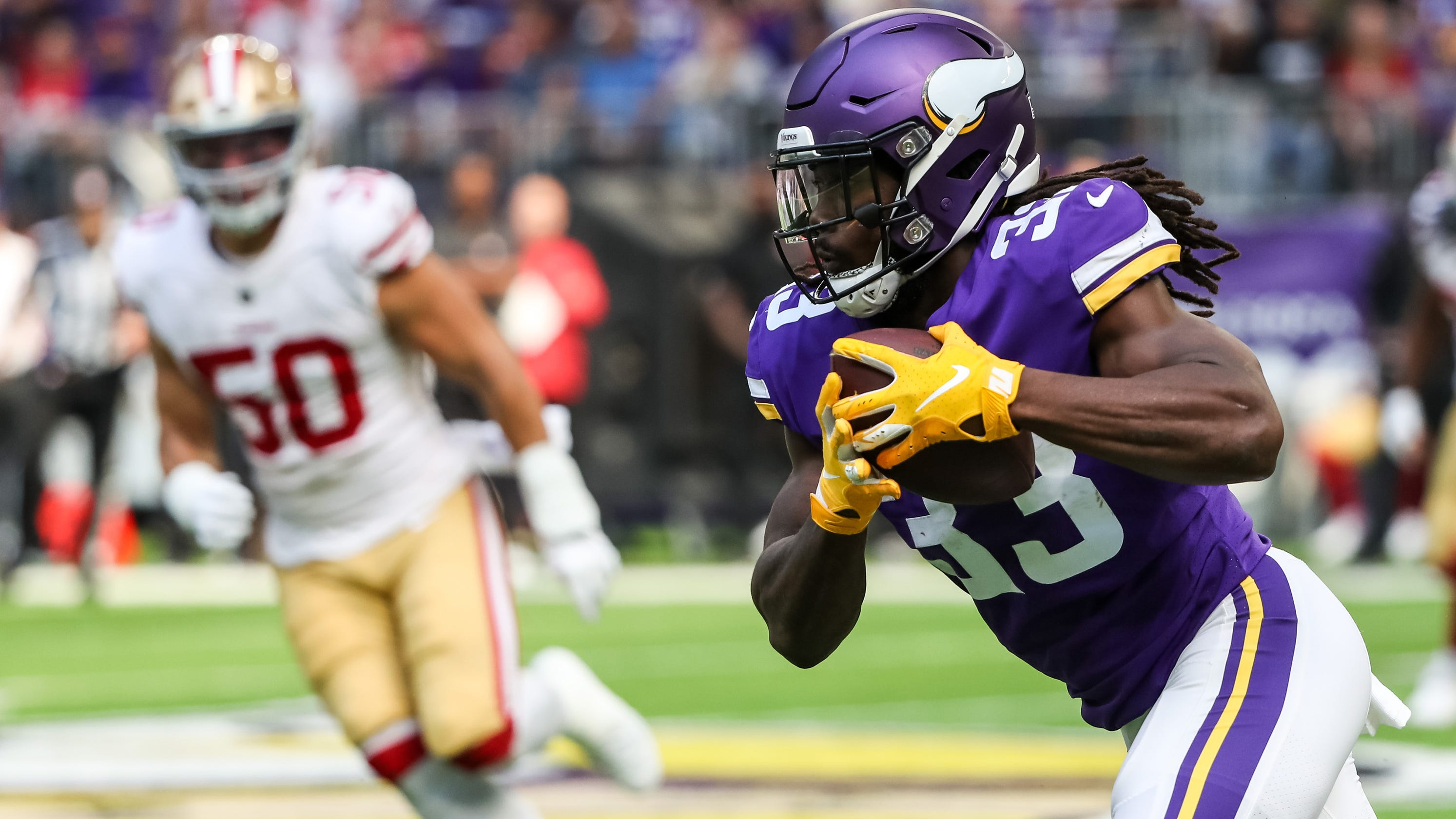 Dalvin Cook makes impressive return in Minnesota Vikings  24-16 win over San  Francisco 49ers bfbb30bad