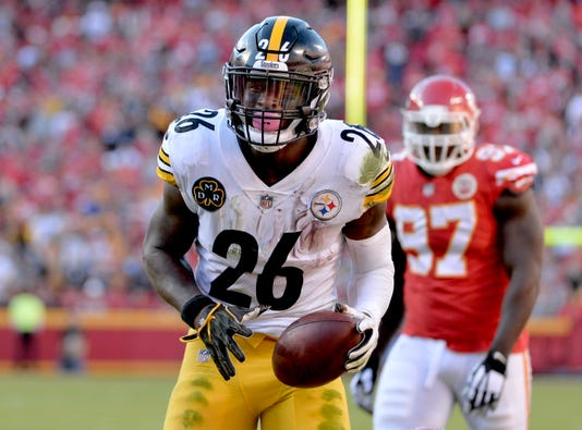 Nfl Pittsburgh Steelers At Kansas City Chiefs Pittsburgh Steelers Running Back Leveon Bell