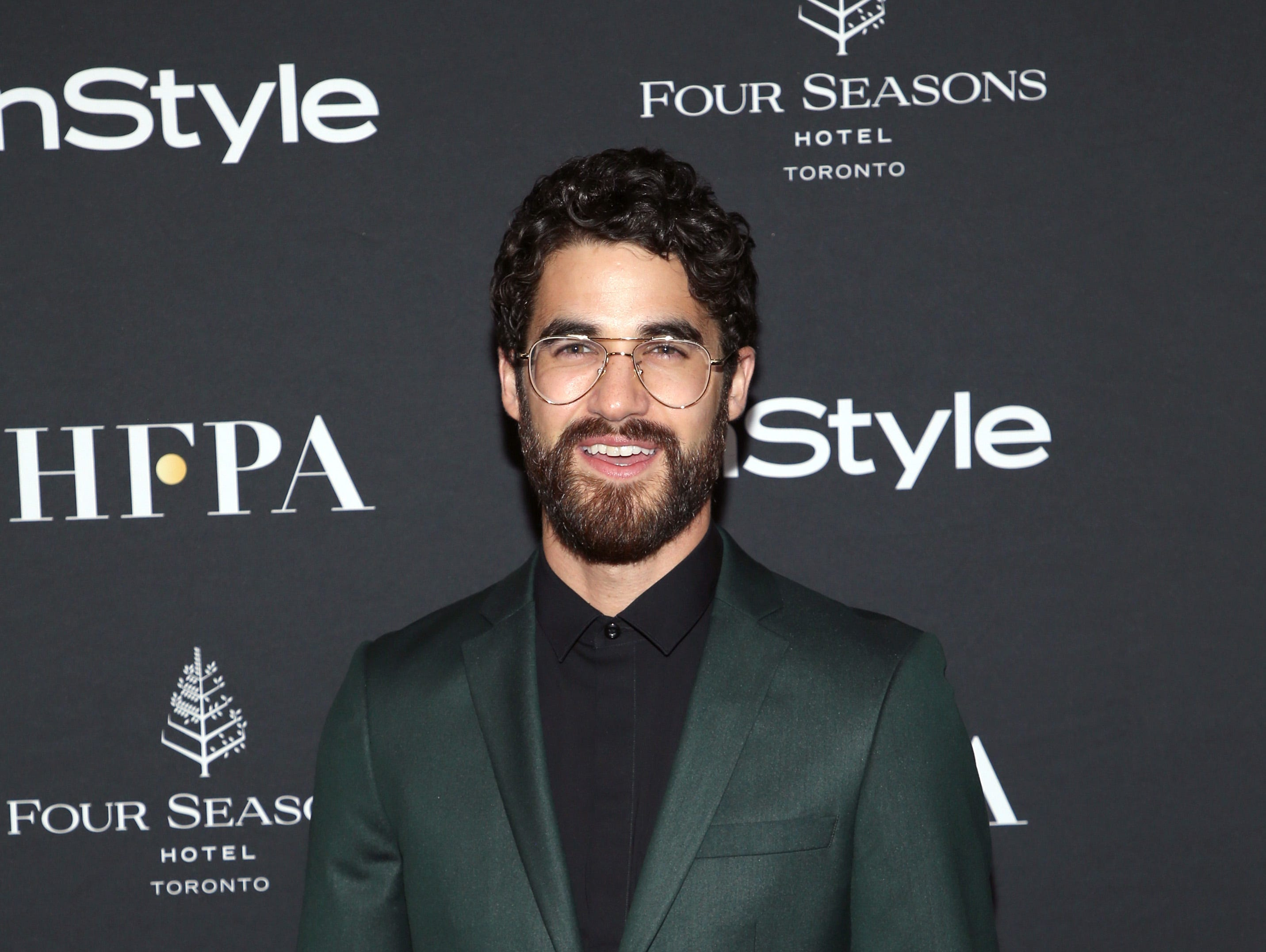 TORONTO, ON - SEPTEMBER 08: Darren Criss  attends The Hollywood Foreign Press Association and InStyle Party during 2018 Toronto International Film Festival at Four Seasons Hotel on September 8, 2018 in Toronto, Canada.  (Photo by Phillip Faraone/WireImage) ORG XMIT: 775218499 ORIG FILE ID: 1029588400