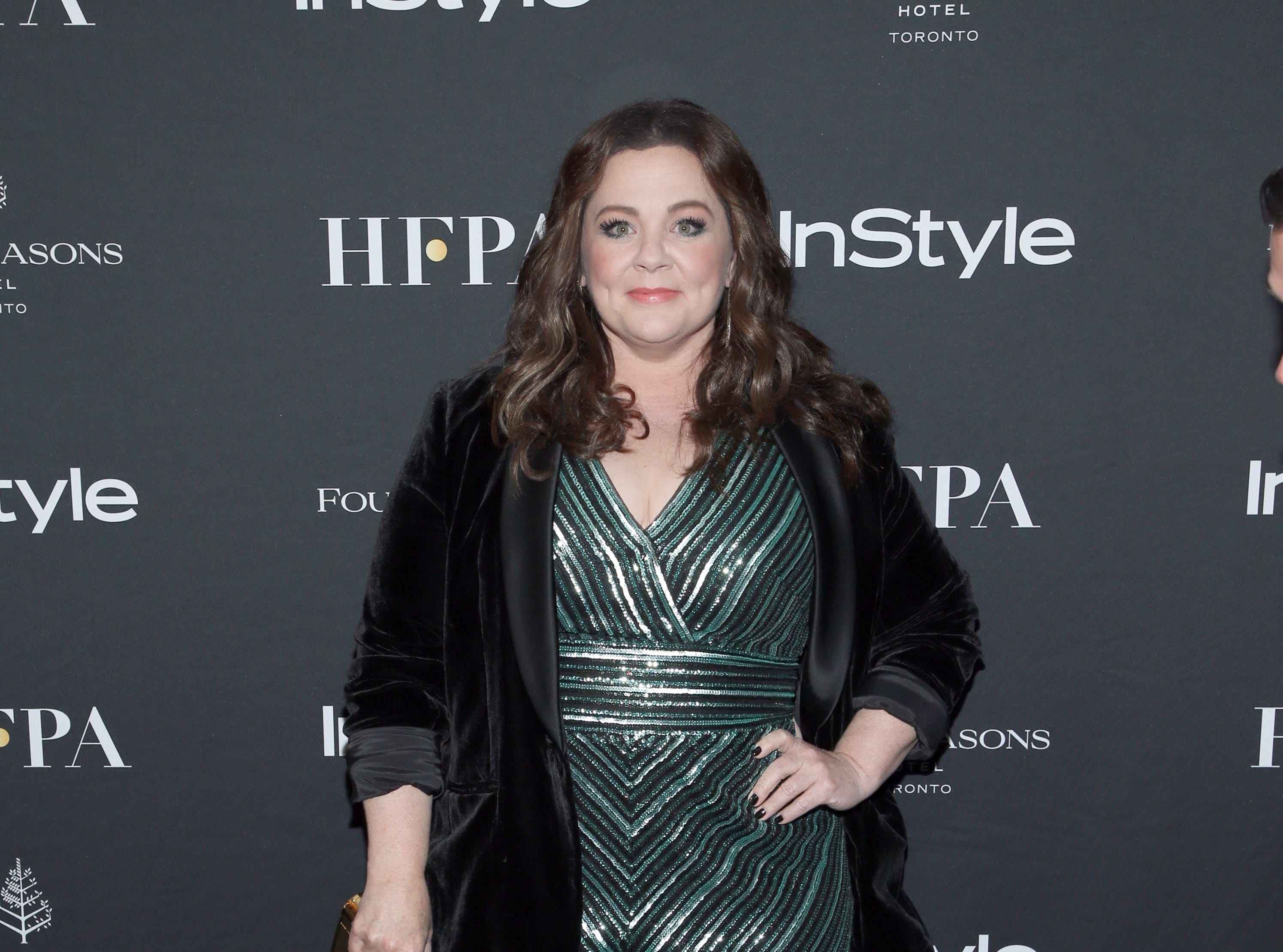 TORONTO, ON - SEPTEMBER 08: Melissa McCarthy attends The Hollywood Foreign Press Association and InStyle Party during 2018 Toronto International Film Festival at Four Seasons Hotel on September 8, 2018 in Toronto, Canada.  (Photo by Phillip Faraone/WireImage) ORG XMIT: 775218499 ORIG FILE ID: 1029584114