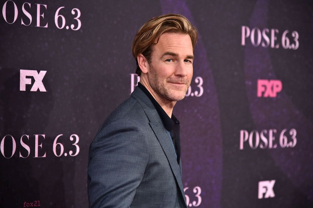 "New dad and ""Dawson's Creek"" actor James Van Der Beek says we need a new term for ""miscarriage"" that doesn't assign blame."