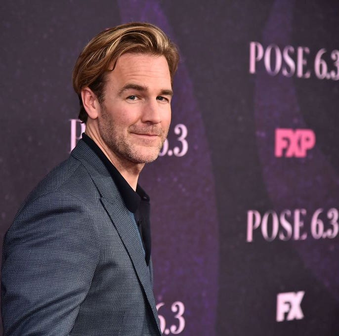 "James Van Der Beek attends the ""Pose"" New York Premiere at Hammerstein Ballroom on May 17, 2018 in New York City."