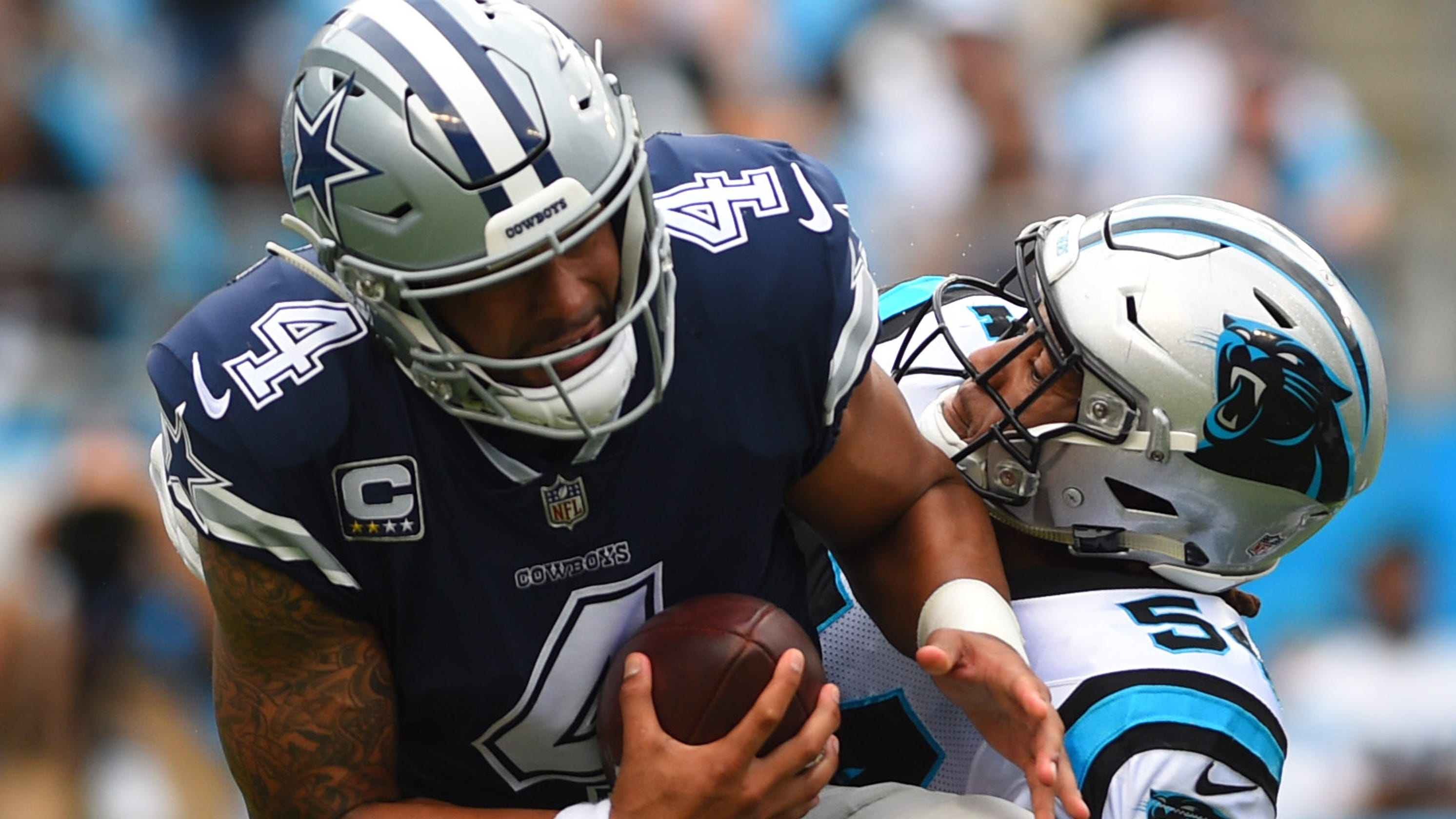 2f141cd5d NFL  What we learned from Dallas Cowboys loss to Carolina Panthers