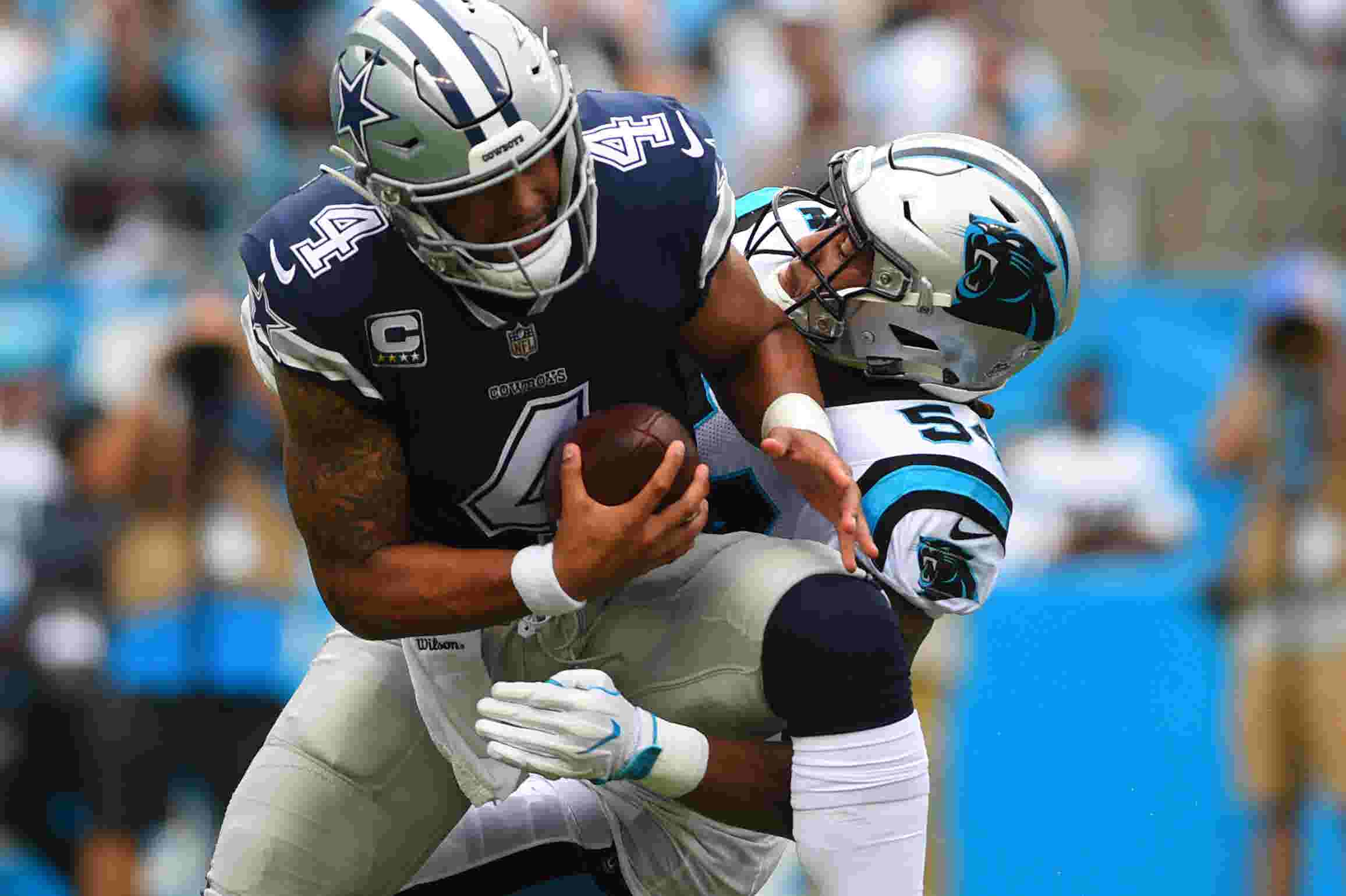 c9e02308b Dak Prescott takes another step back as Dallas Cowboys  season begins with  loss
