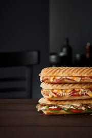 Subway is testing paninis at some of its California restaurants.
