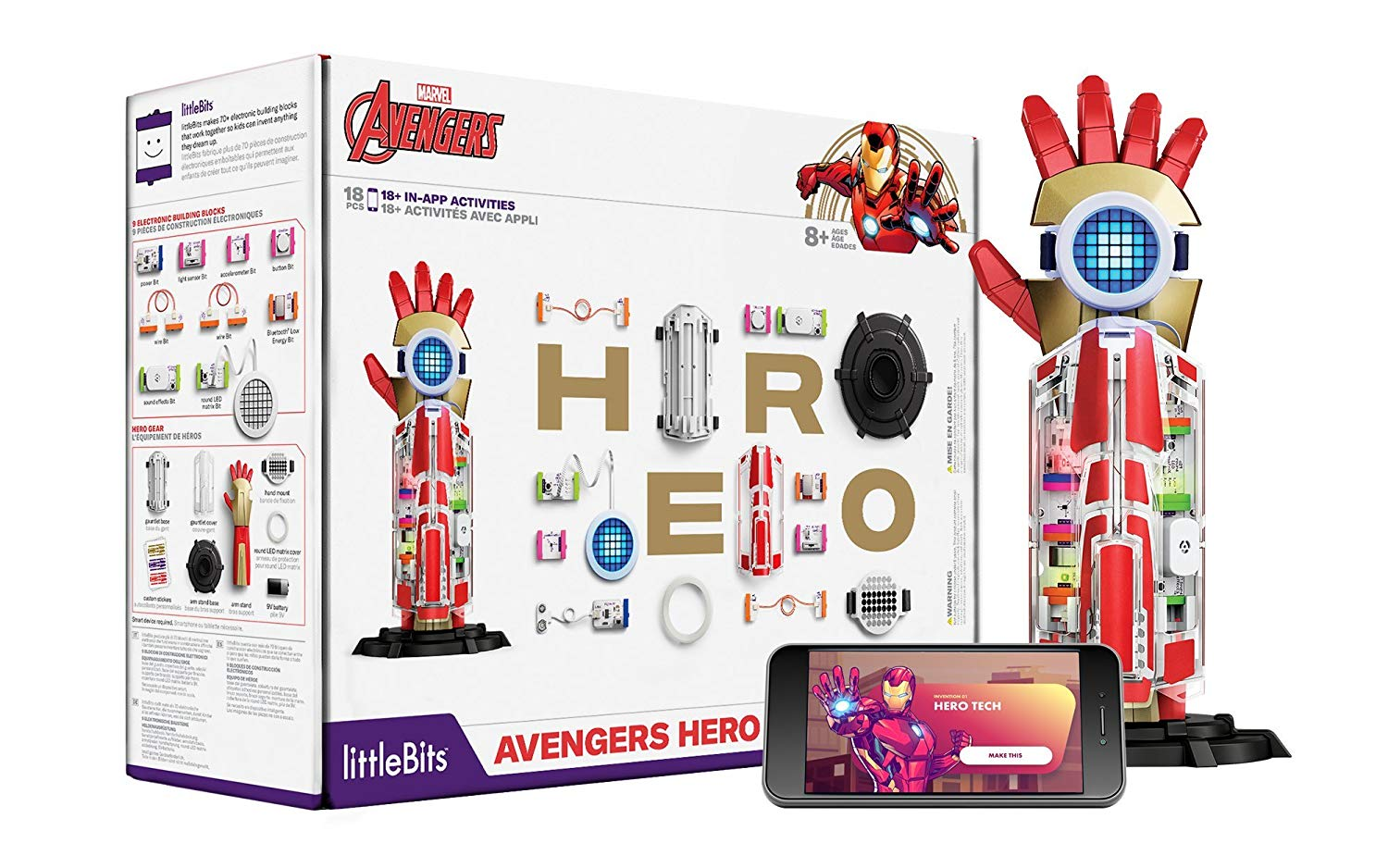 littleBits Avengers Hero Inventor Kit (18 Piece)