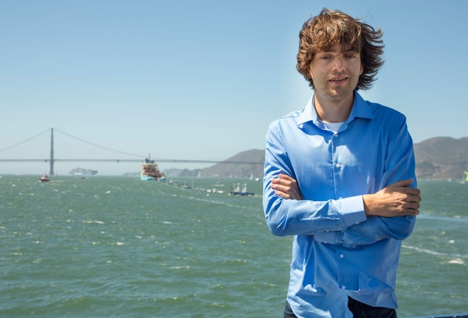 The Ocean Cleanup project CEO and Founder Boyan Slat, 24, a Dutch college student, was so disgusted by the plastic waste he encountered diving off Greece as a teen that he has devoted his life to cleaning up the mess.