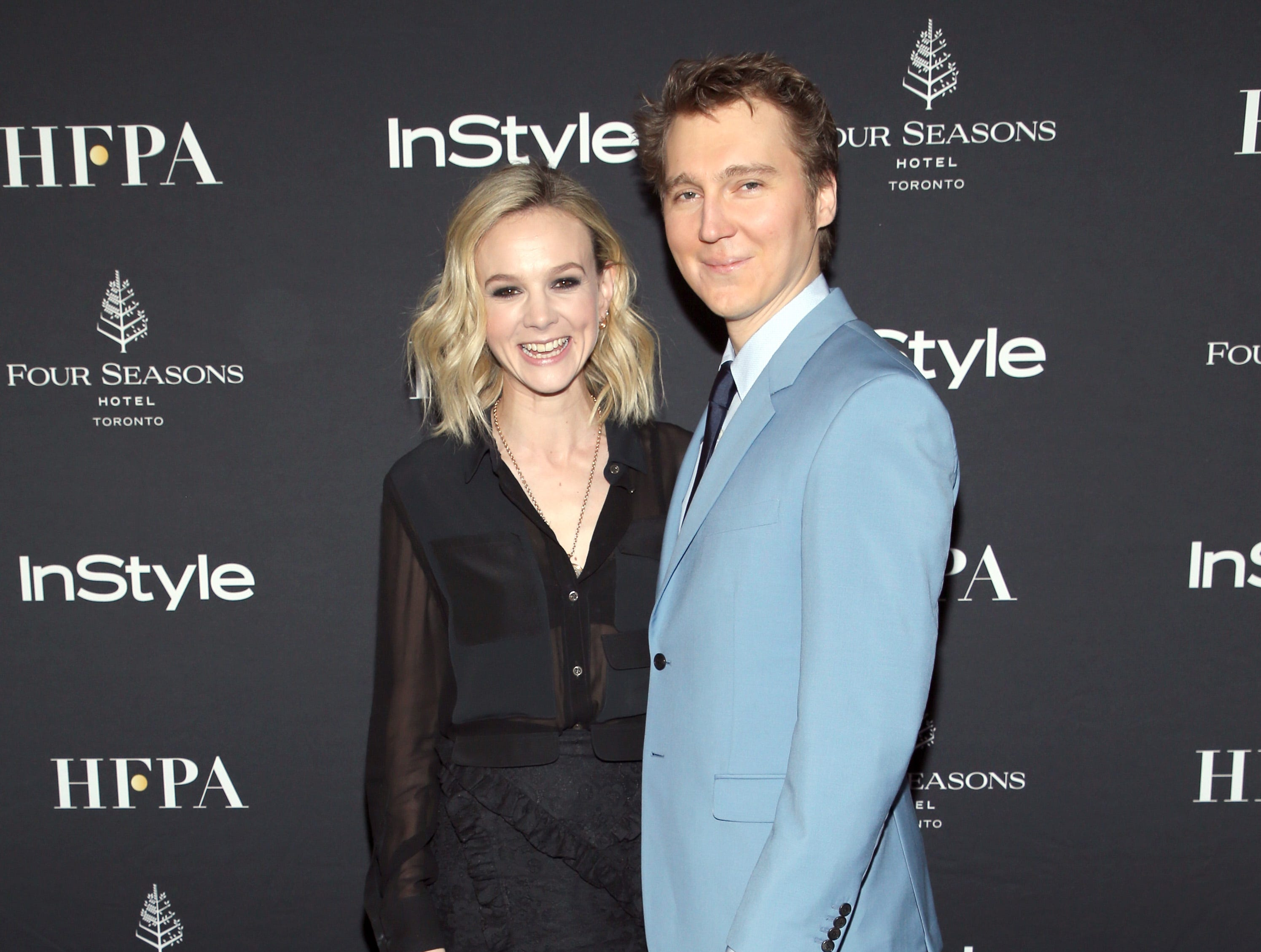 TORONTO, ON - SEPTEMBER 08: Carey Mulligan and Paul Dano attend The Hollywood Foreign Press Association and InStyle Party during 2018 Toronto International Film Festival at Four Seasons Hotel on September 8, 2018 in Toronto, Canada.  (Photo by Phillip Faraone/WireImage) ORG XMIT: 775218499 ORIG FILE ID: 1029587684