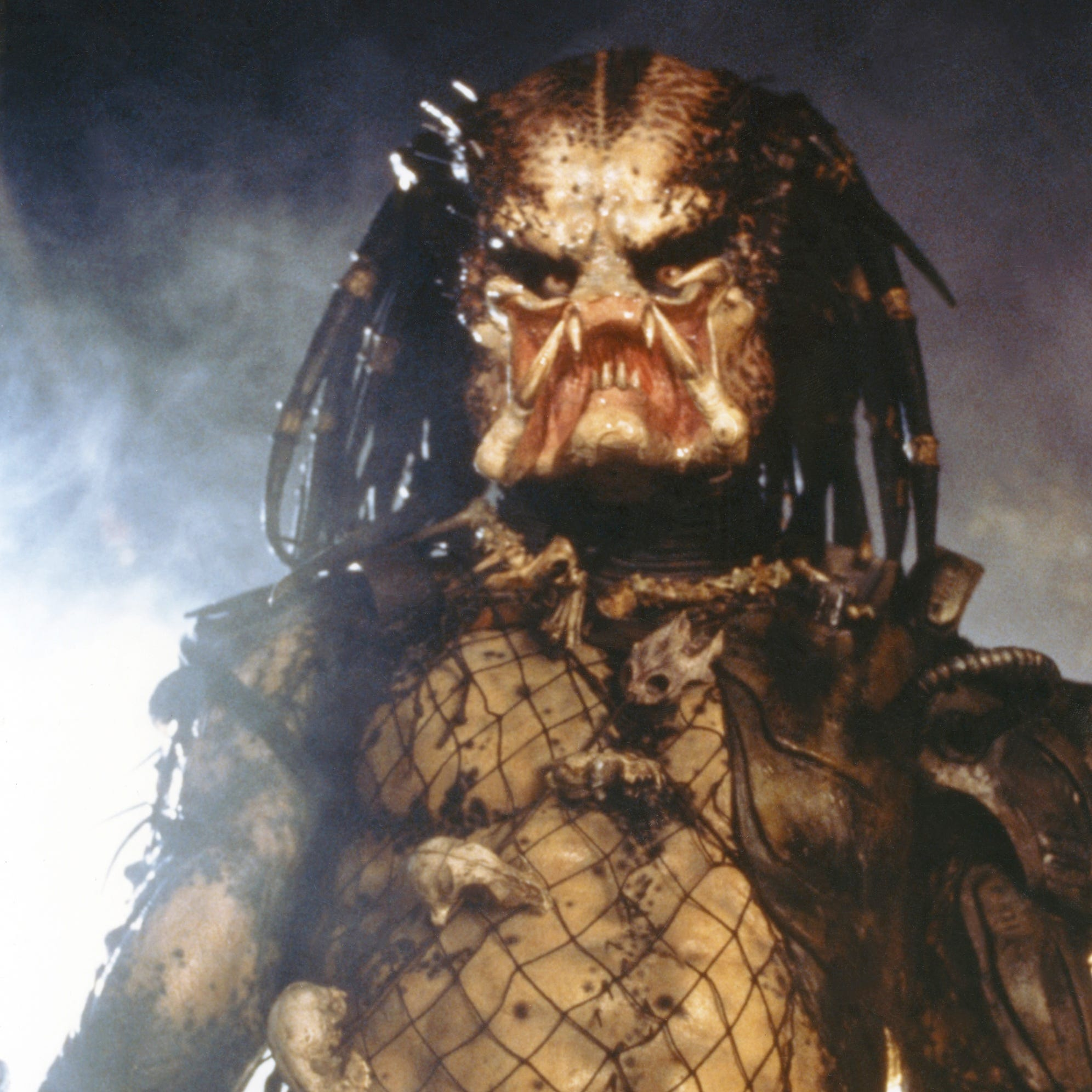 The Predator (Kevin Peter Hall) from the original 1987 action film.