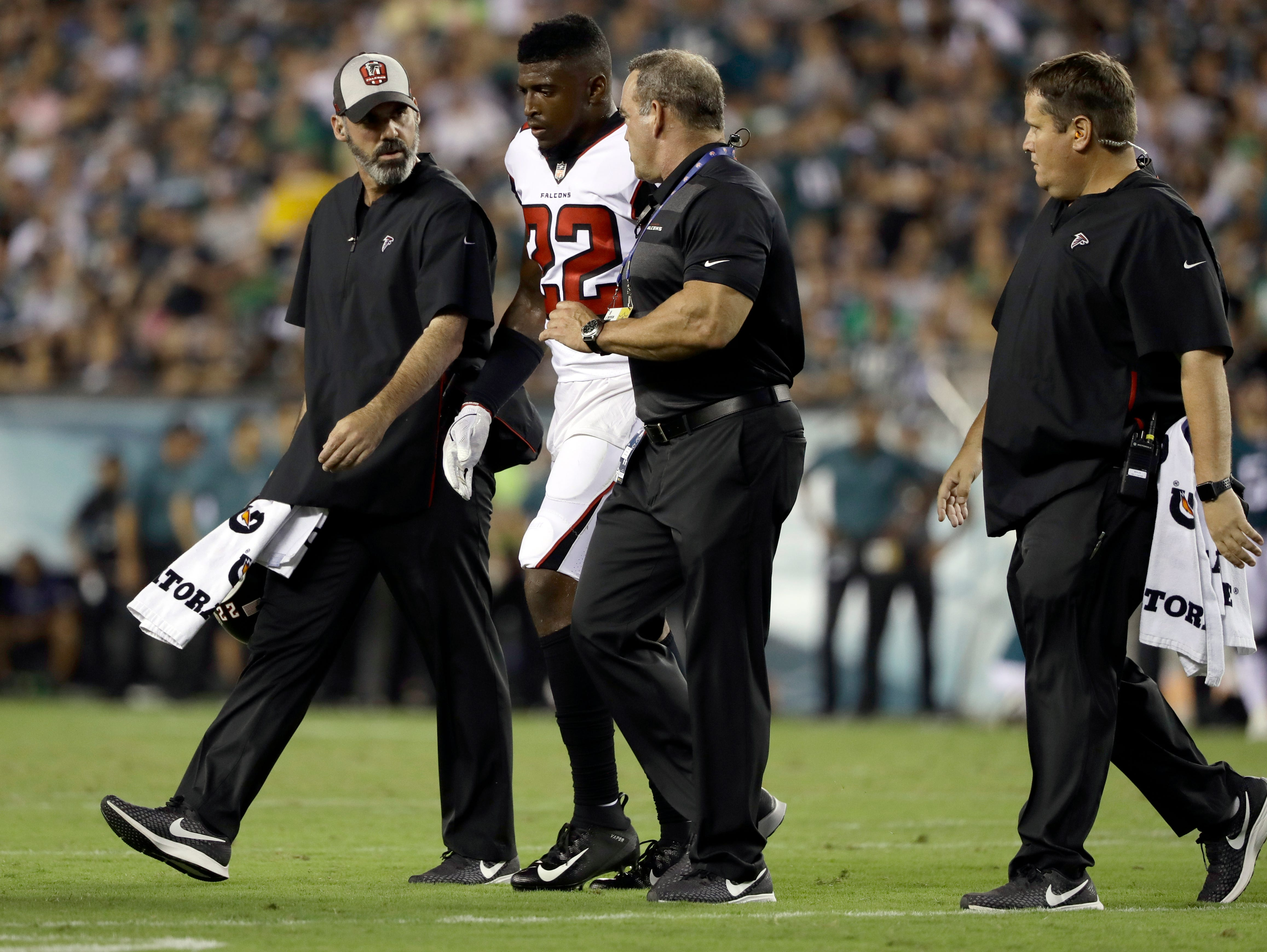 Keanu Neal, S, Falcons (torn ACL, out for season)