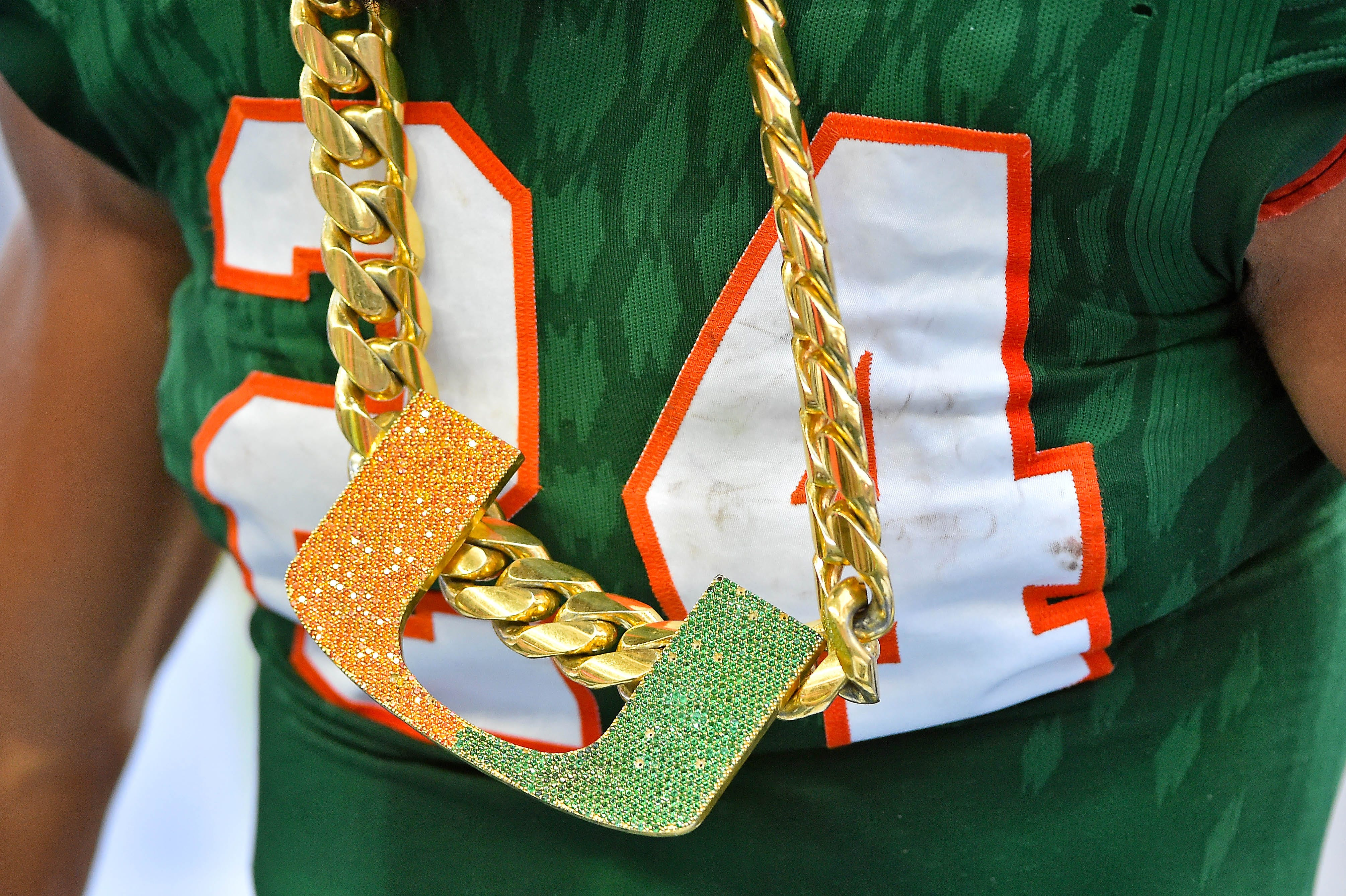 Miami turnover chain for 2018 makes debut