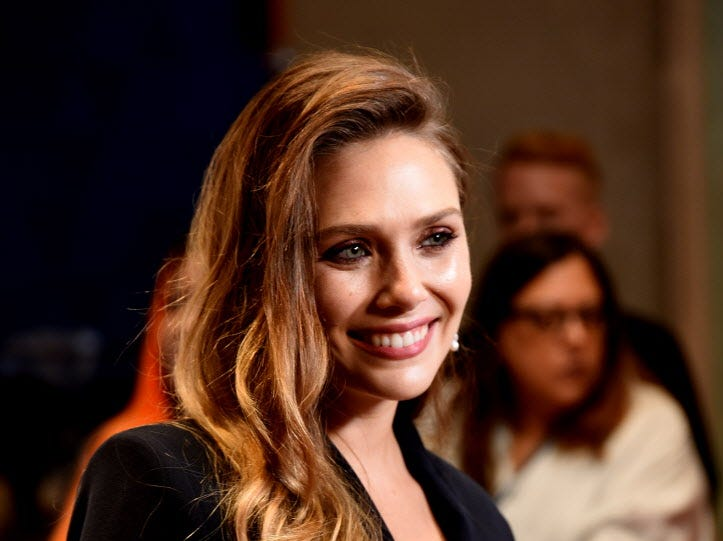 "TORONTO, ON - SEPTEMBER 08:  Elizabeth Olsen attends the ""Sorry For Your Loss"" premiere during 2018 Toronto International Film Festival at TIFF Bell Lightbox on September 8, 2018 in Toronto, Canada.  (Photo by Presley Ann/Getty Images) ORG XMIT: 775218508 ORIG FILE ID: 1029313916"