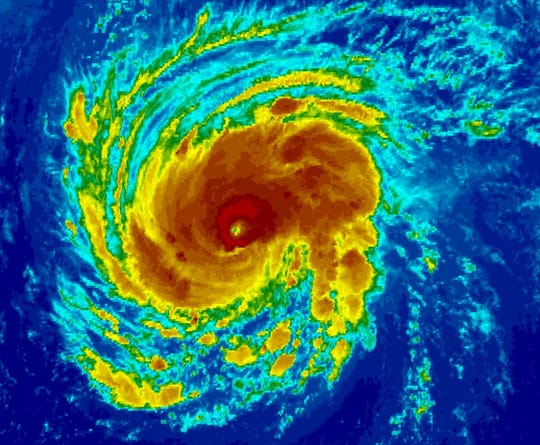 Hurricane Florence is rapidly intensifying as it moves toward the Carolinas.