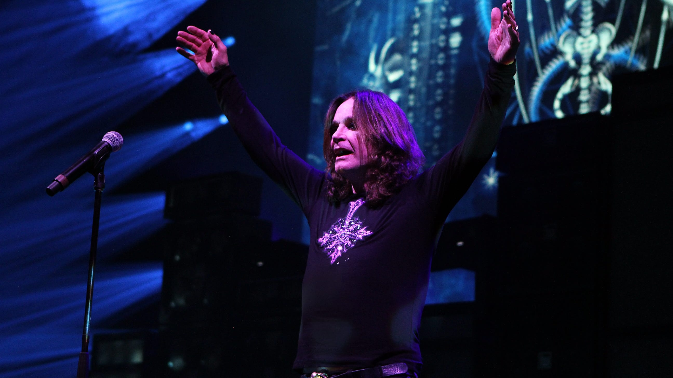 Ozzy Osbourne is on the road for his No More Tours 2 series of farewell concerts.