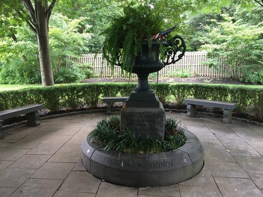 Fair Haven's 9/11 memorial.