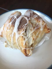 An apple dumpling at Big Apple Bakery in the Manahawkin section of Stafford.