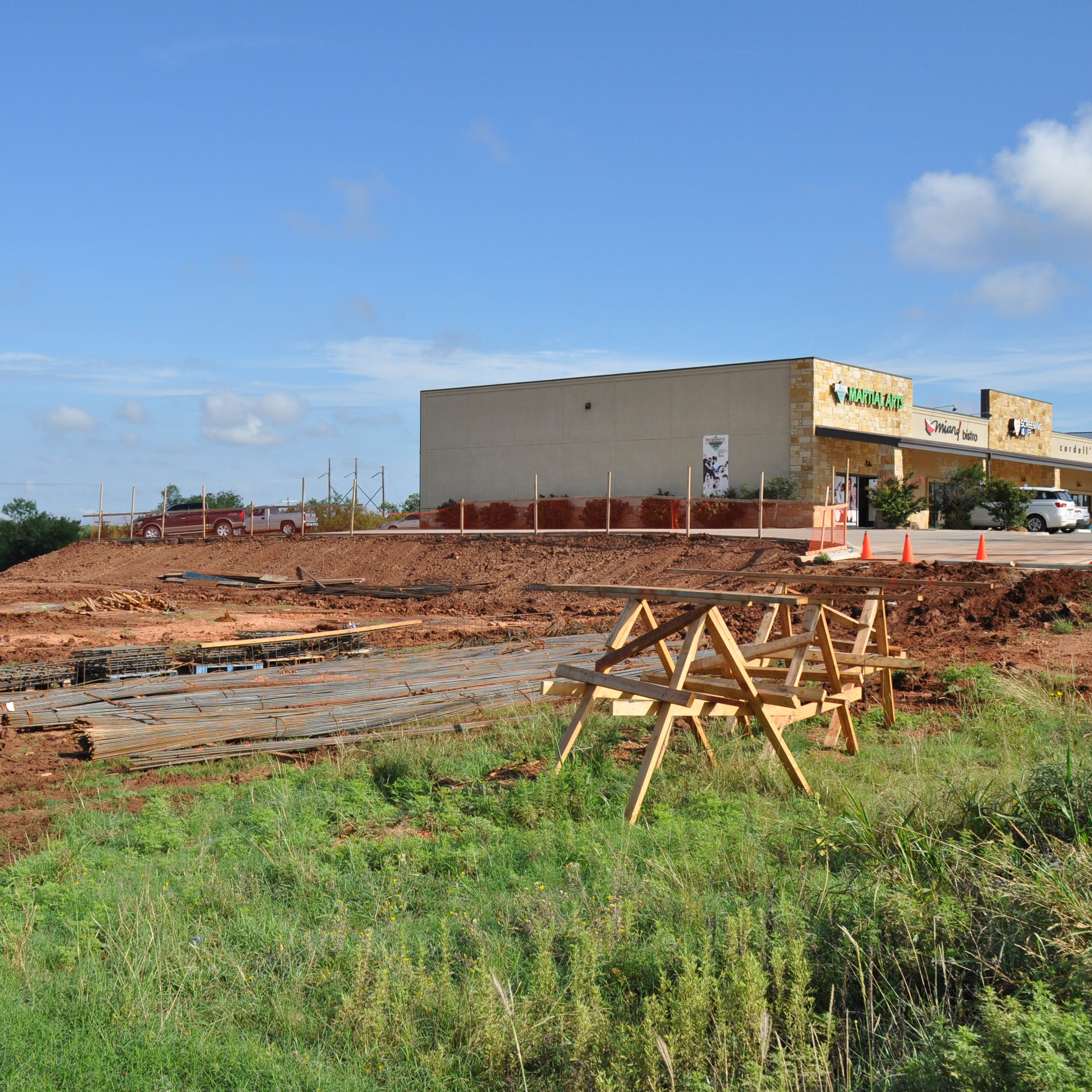 New pod underway at Wylie Junction to add 4 businesses