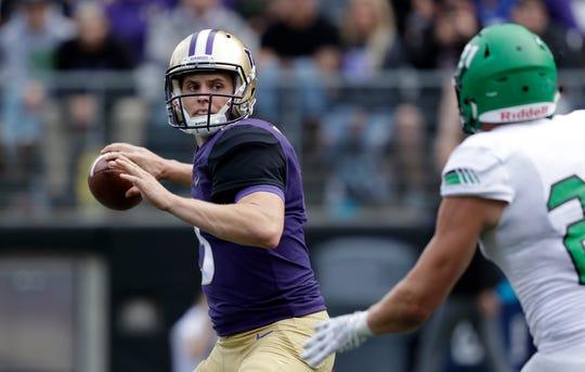 "Washington quarterback Jake Browning, by his own description, was ""subpar"" during Saturday's win over North Dakota."