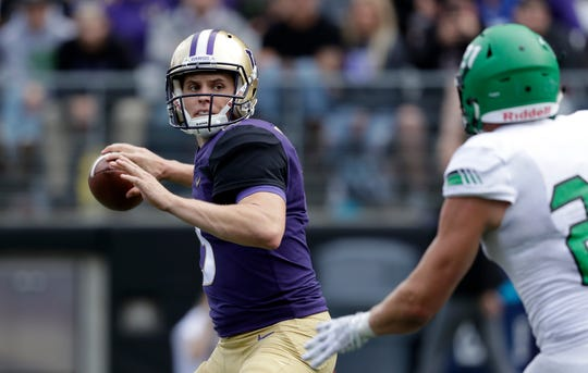 "Washington quarterback Jake Browning, by his own description, was ""subpar"" during Saturday's win over North Dakota."