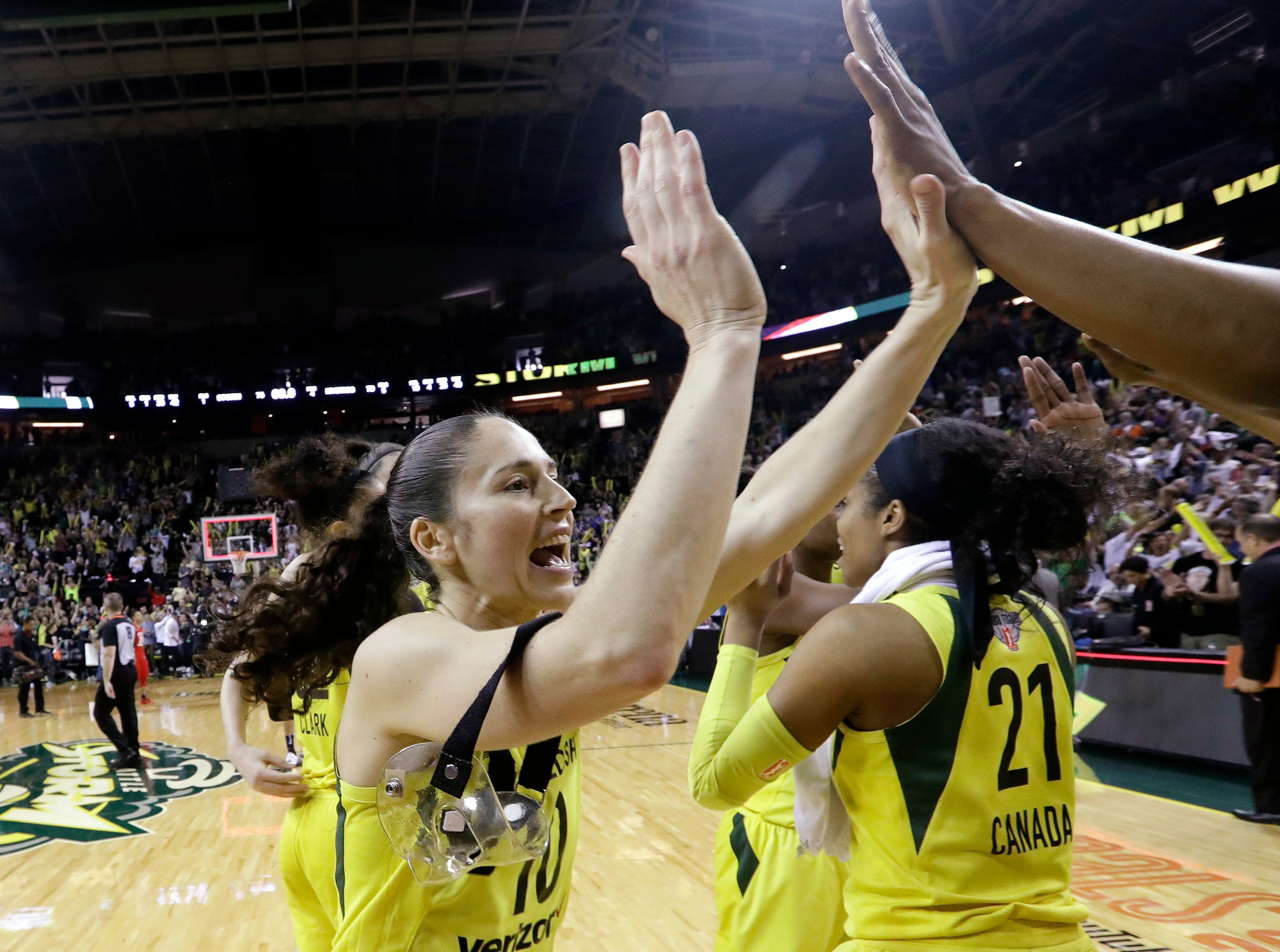 History says Storm WNBA coronation only a matter of time