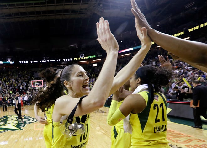 Sue Bird will play for her third WNBA championship on Wednesday.