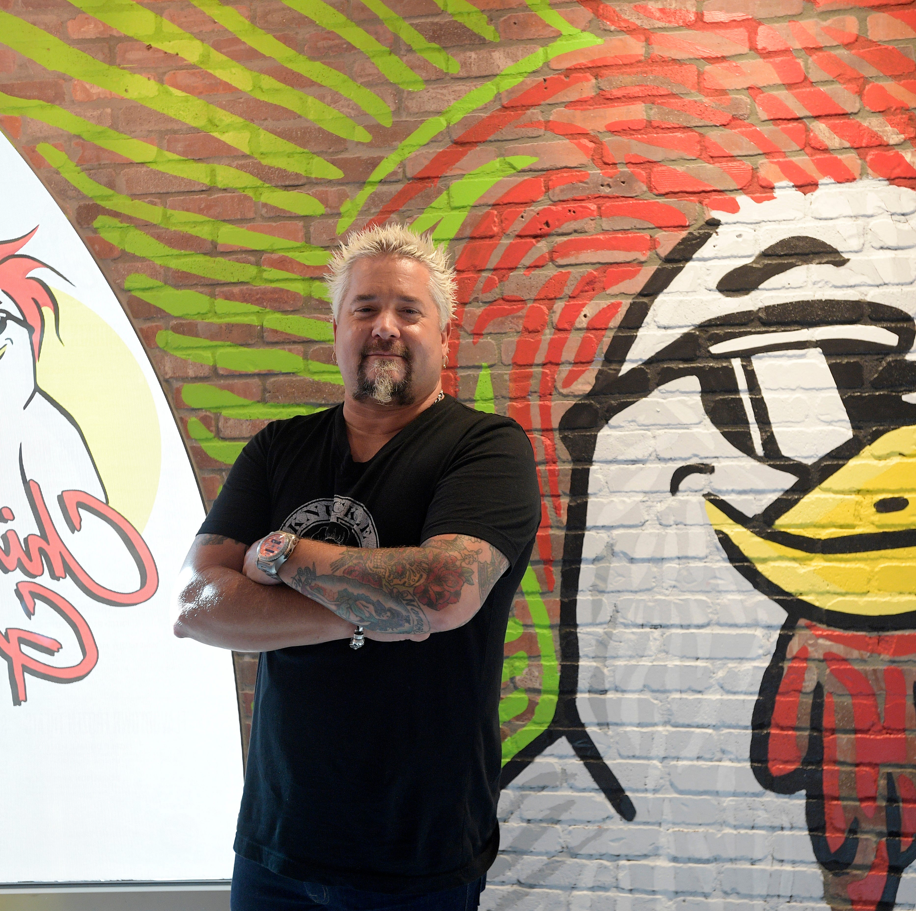 Food Network star Guy Fieri opens Chicken Guy! restaurant at Disney Springs in Orlando