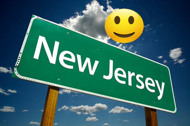 New Jersey rates above average in happiness, according to WalletHub.