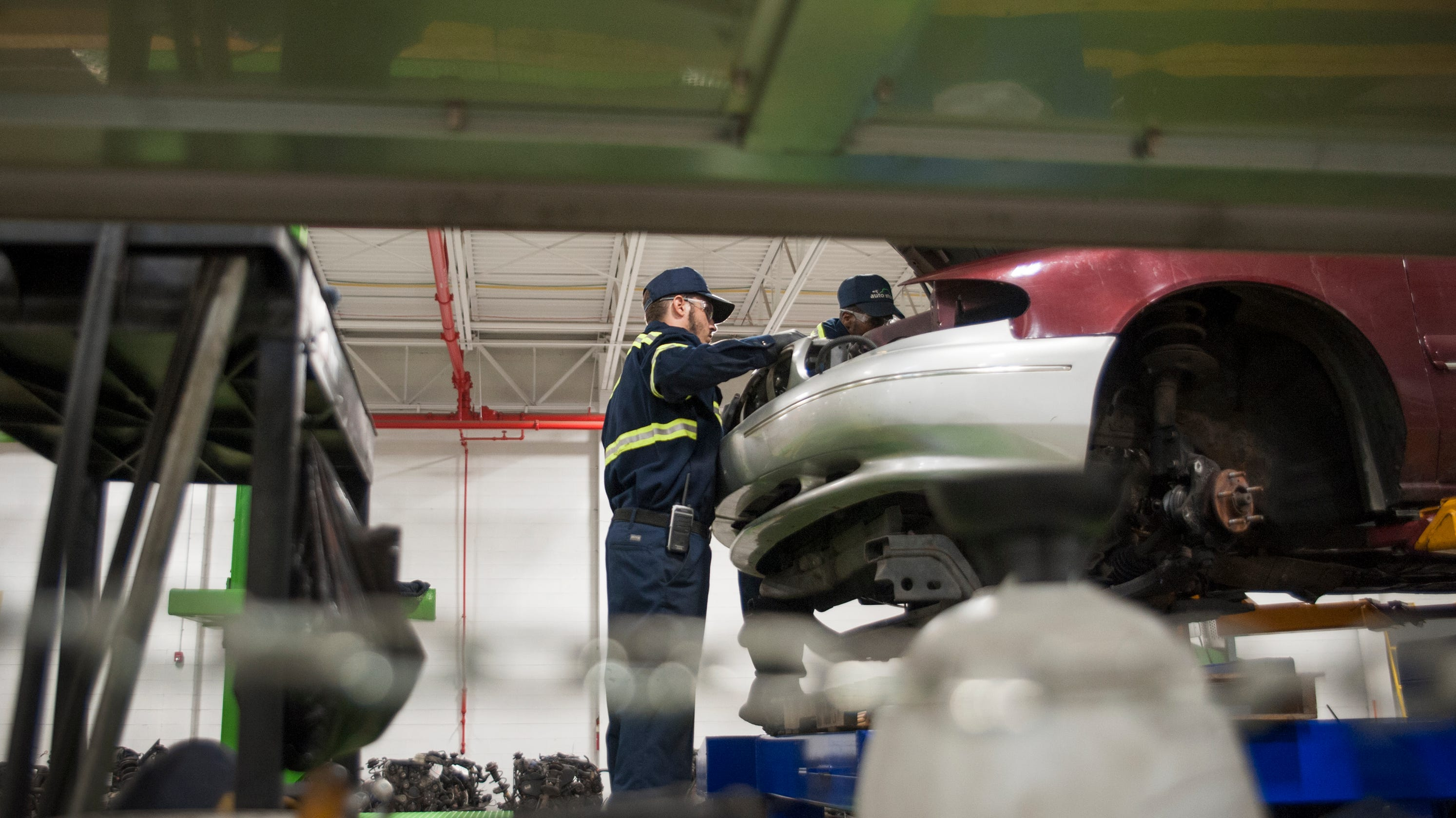 Old car parts mean new job opportunities for Camden