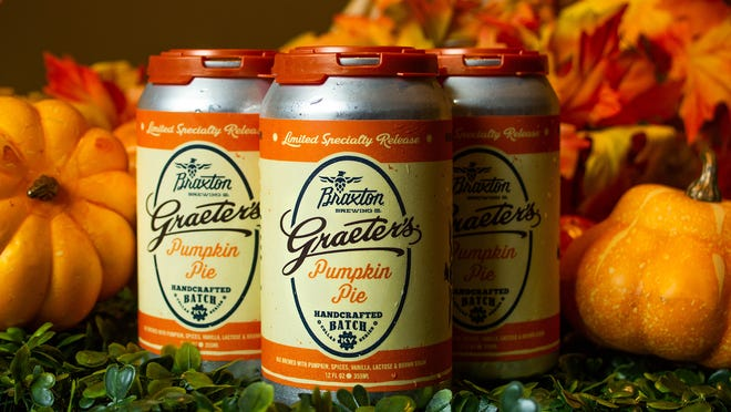 Pumpkin Pie Ale from Braxton, a collaboration with Graeter's