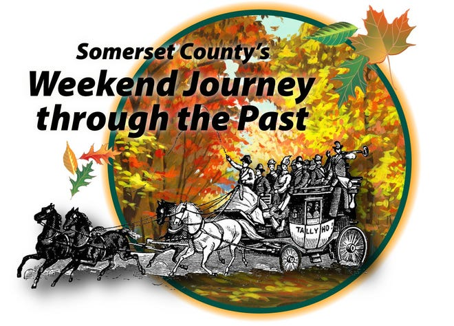 Tours, demonstrations, re-enactments, commemorative history trading cards and more will connect visitors to Somerset County's rich heritage during the 13th annual Weekend Journey through the Past.