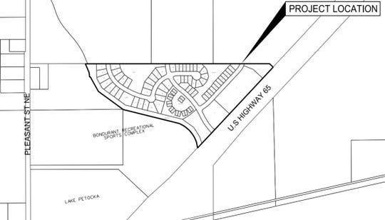 A new 81-lot development named Park Side will sit west of Highway 65 and just north of the Bondurant Recreational Sports Complex. The Bondurant City Council approved a preliminary plat for the project last week.