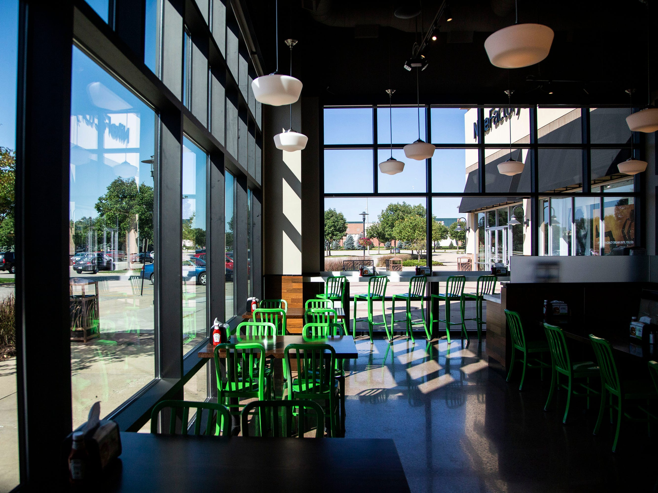 Wahlburgers, a burger restaurant created by actor Mark Wahlberg and his bothers is ready to open in Des Moines on Monday, Sept. 10, 2018, in the Jordan Creek Town Center in West Des Moines.