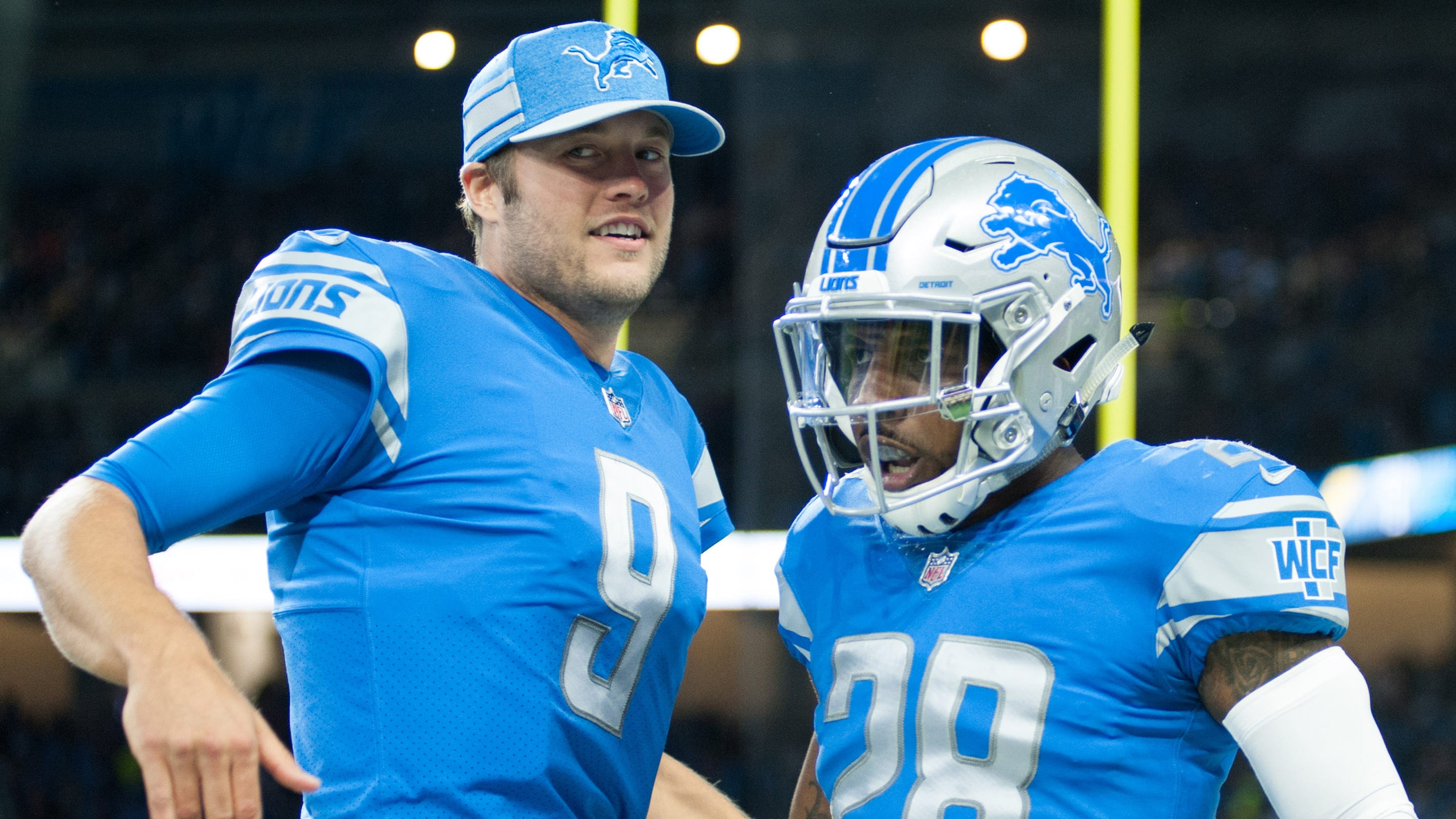 quality design ee8ba a0770 Detroit Lions' Tracy Walker may see bigger role; Diggs out