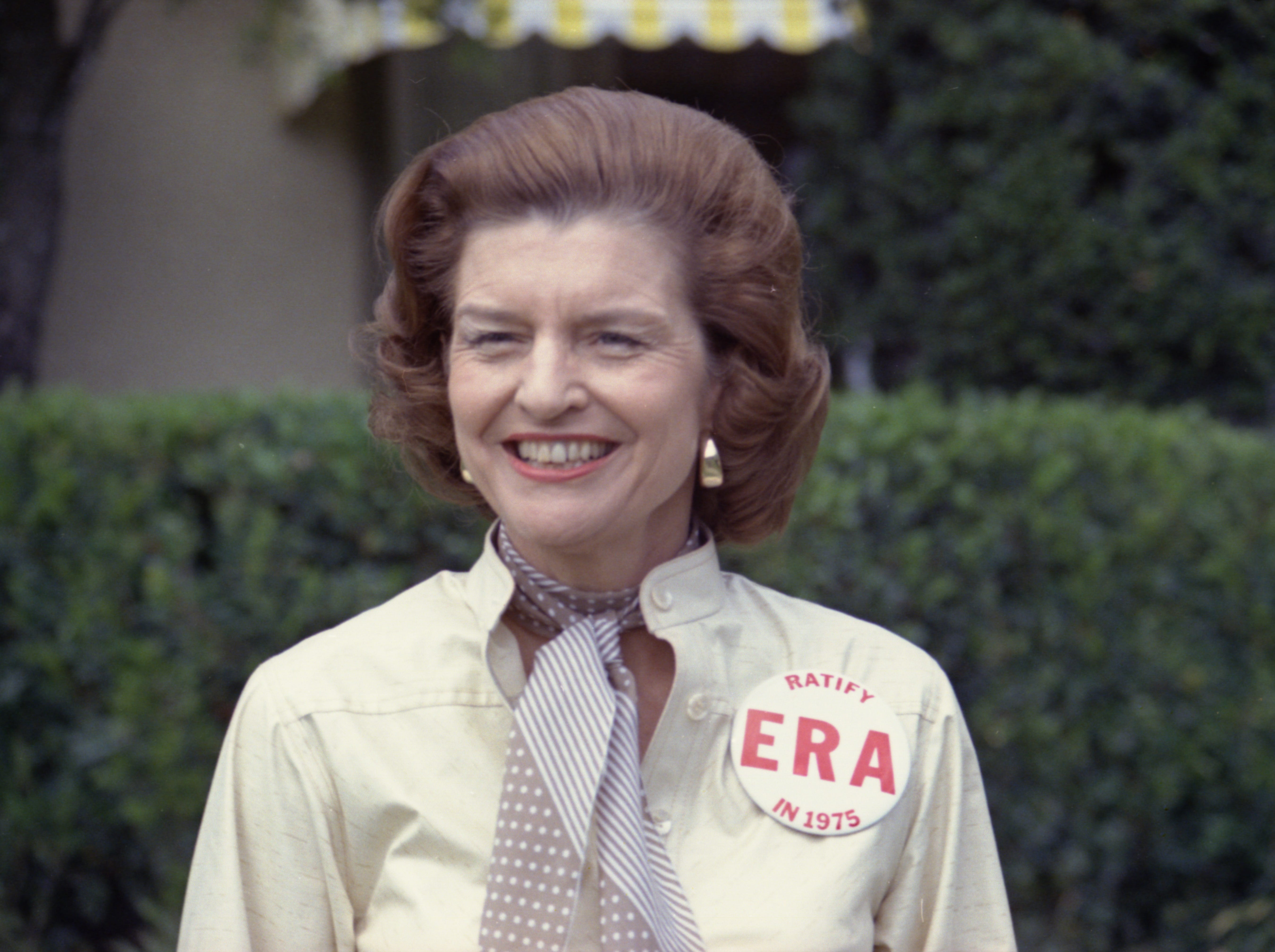 Betty's outspoken support for the Equal Rights Amendment sparked controversy, but she refused to be silenced.