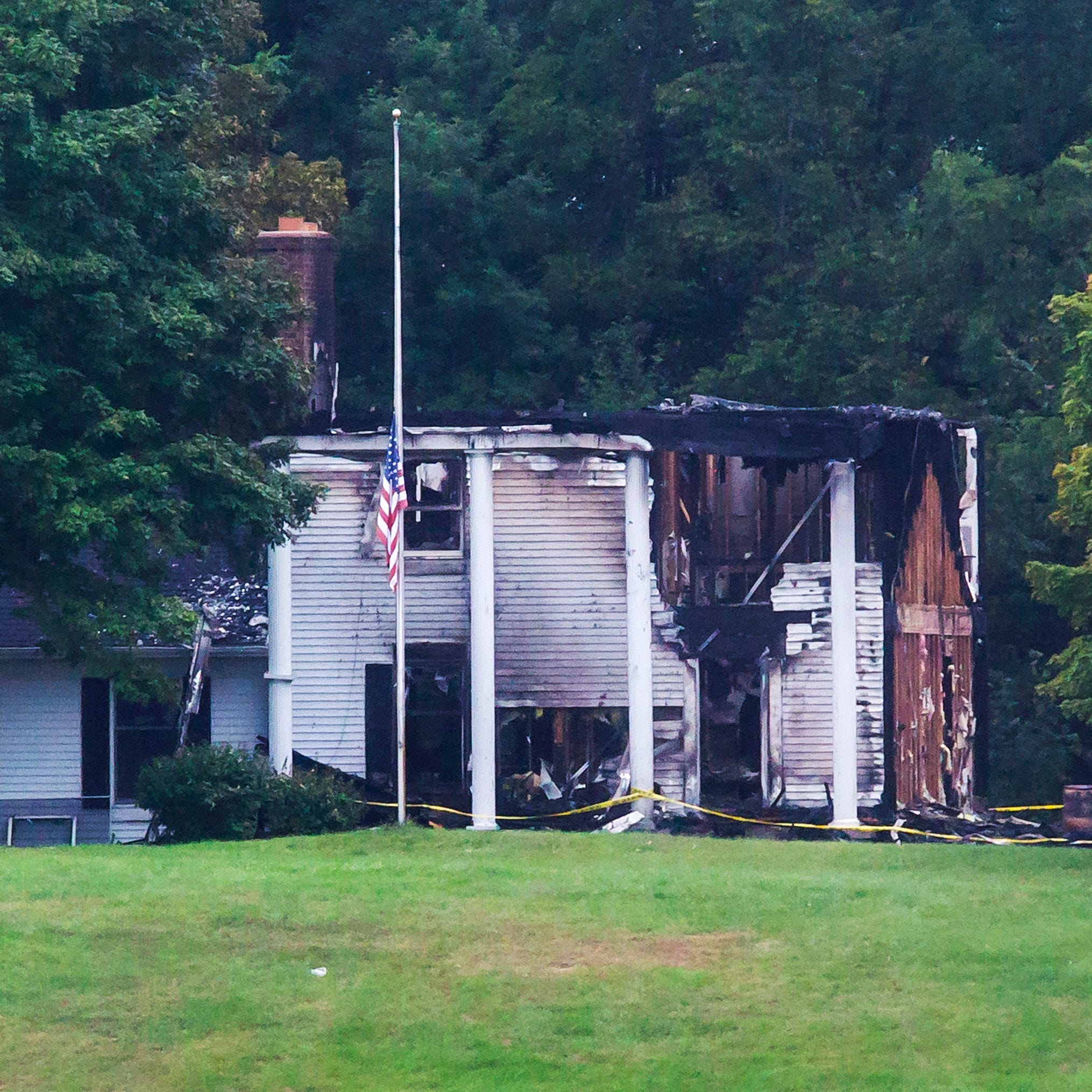 Kitchen torch behind fire at family home of GOP Lt. Governor nominee