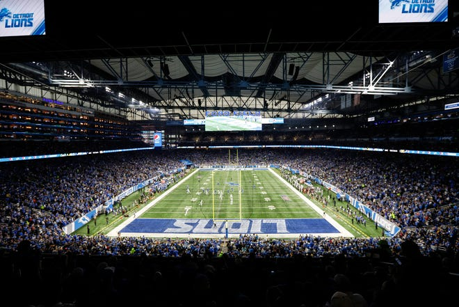 Detroit Lions host the New York Jets to open the season at Ford Field in Detroit, Monday, Sept. 10, 2018.