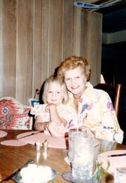 Heather Devers with her grandmother Betty Ford.