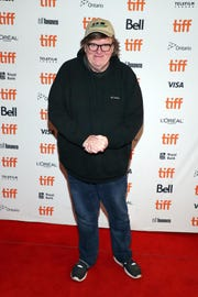 "Michael Moore attended the ""Giant Little Ones"" premiere at The Elgin in Toronto on Sunday."