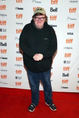 """Michael Moore attended the """"Giant Little Ones"""" premiere at The Elgin in Toronto on Sunday."""
