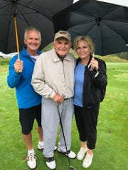 Jack Schadowski celebrated his 90th birthday with his family at the Detroit News/GAM Hole In One Contest on Monday.