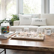 Rae Dunn Collection is the first home decor line by the nationally-acclaimed ceramic artist.