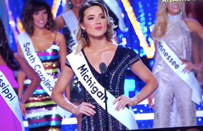 Miss Michigan Emily Sioma