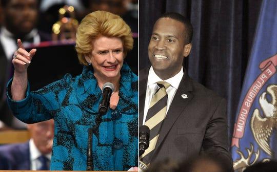 Democratic U.S. Sen. Debbie Stabenow vs. Republican John James