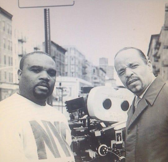 Paul Eliacin and Ice-T