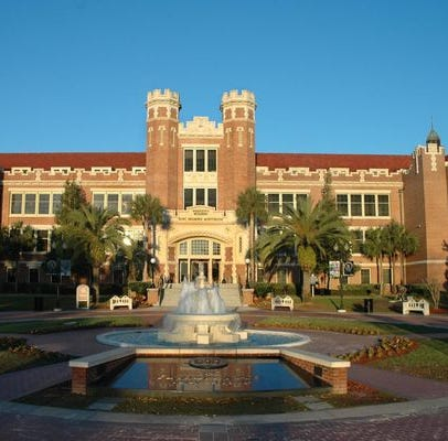 Florida State moves up to number 33 in national public university rankings.