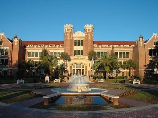Florida State moves up to No. 26 in national public university rankings.