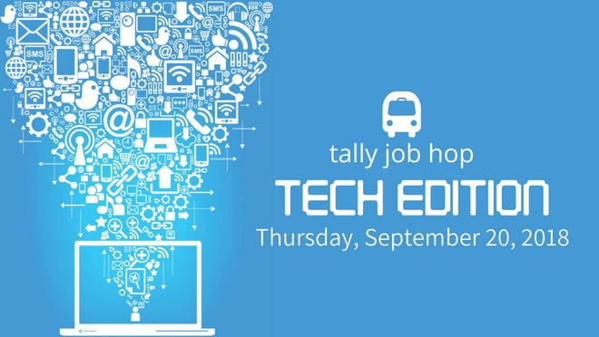 The Tally Job Hop: Tech Edition, hosted by Access Tallahassee, will take place on Thursday, Sept. 20, 2018.